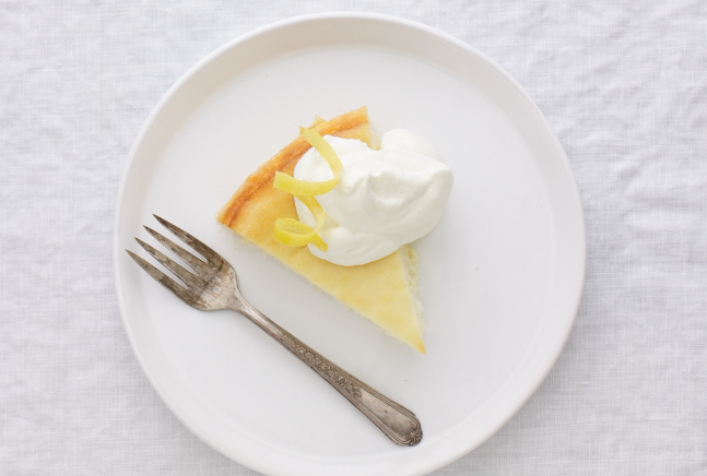 The Joy of Kosher Low-fat Lemon Cheesecake for Passover by Jamie Geller