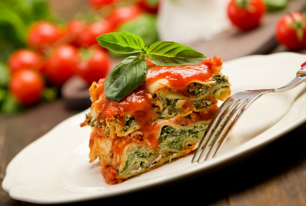The Joy of Kosher Spinach Lasagna Recipe by Shifra Klein