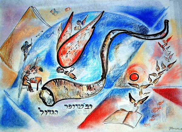 Dvar Torah: Shofar – To Be Blown Or To Be Blown Away by Rav Shmuel Brazil