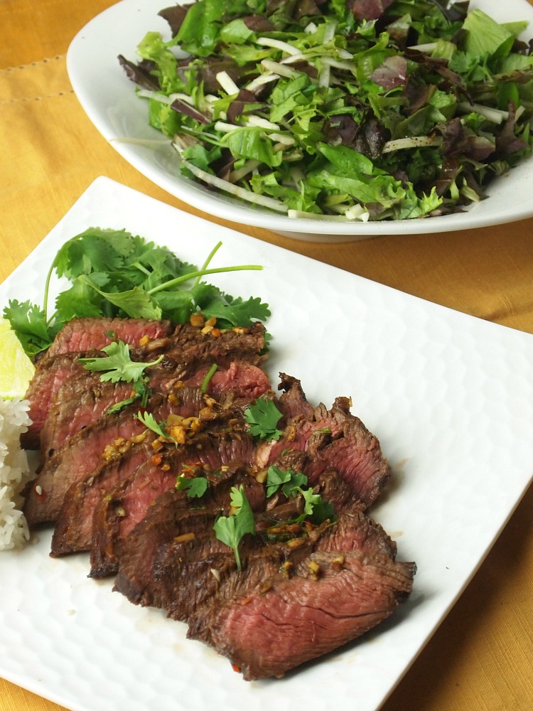 The Joy of Kosher Thai Flavored London Broil By Tamar Genger from JoyofKosher.com
