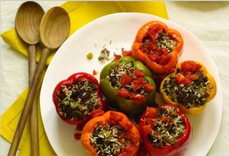 Stuffed Peppers By Jamie Geller from JoyofKosher.com
