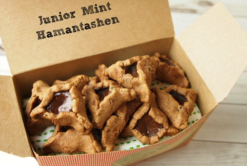 Chocolate Mint Hamantashen by Tamar Genger from JoyofKosher.com
