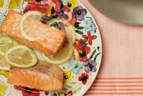 Simple Baked Salmon by Jamie Geller from JoyofKosher.com