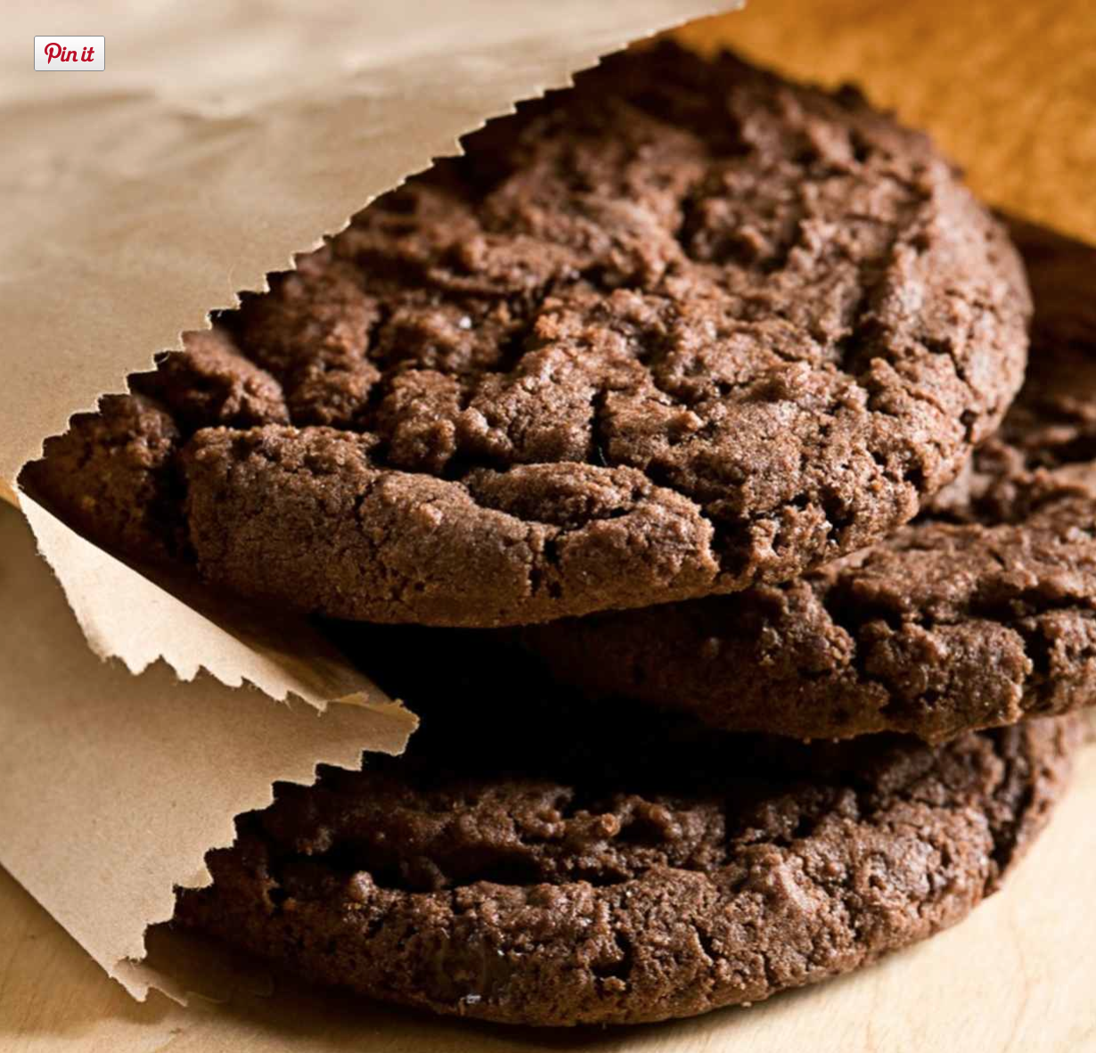 JoyofKosher's Chocolate Chocolate Cookies with Cookie Crumbs by Tamar Genger