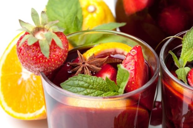 The Joy of Kosher- Kosher Sangria for Tu Bishvat, by Jamie Geller