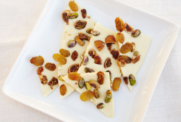 JoyOfKosher's White Chocolate Bark by Jamie Geller