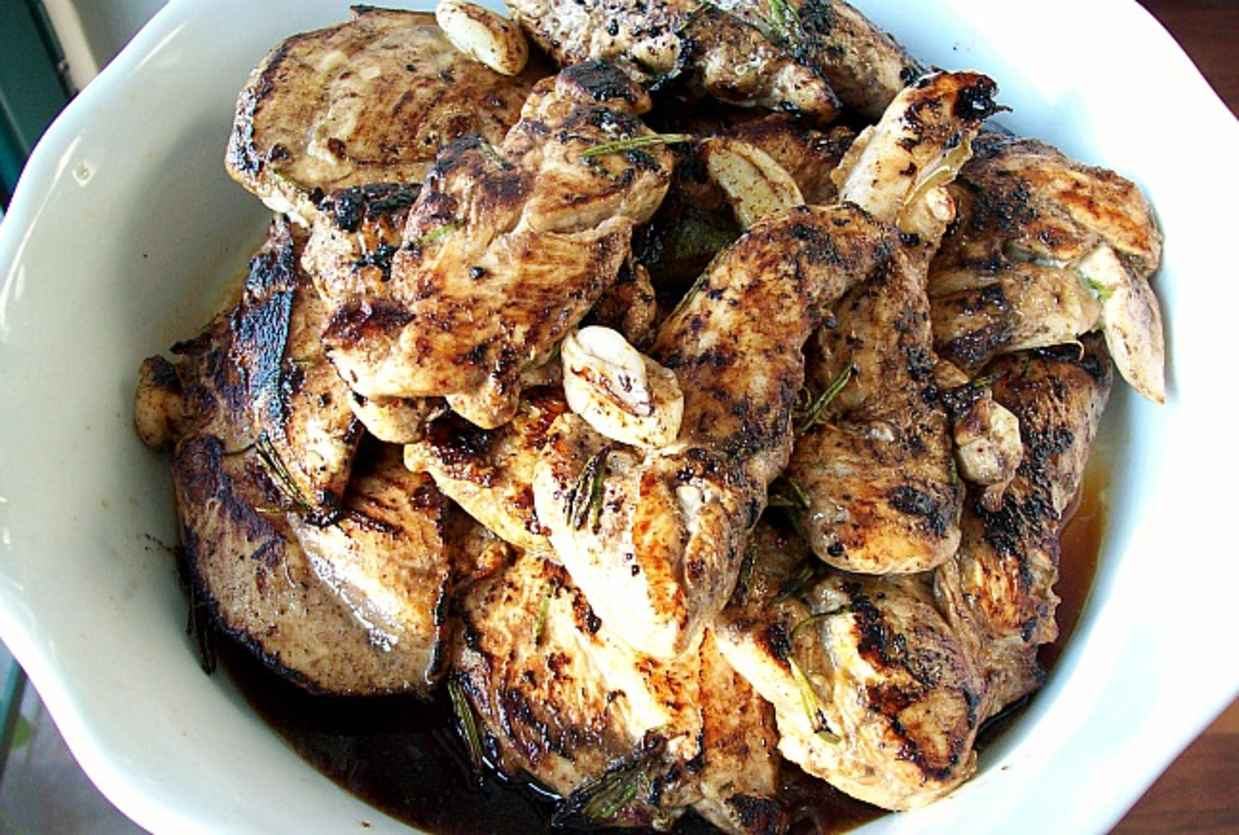 JoyofKosher.com Rosemary Balsamic Chicken by Tamar Genger
